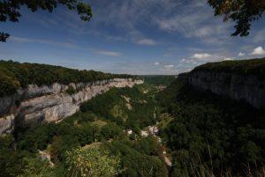 Belvédère de Baume-Les-Messieurs<br> Parc régional du haut Jura