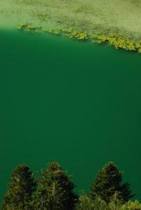 Parc régional du haut Jura : Belvédère des Quatre Lacs : le lac Grand Maclu