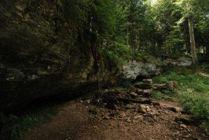 Parc régional du haut Jura : les Cascades du Hérisson