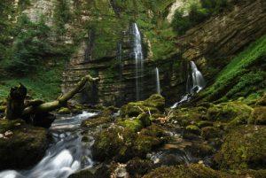 Cascade des Gorges de Flumen<br> Parc régional du haut Jura