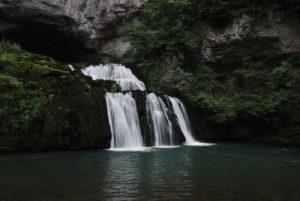 La Source du Lison<br> Parc régional du haut Jura