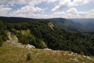 Point de vue de Crêt Pourri<br> Parc régional du haut Jura