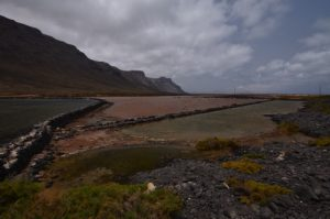 Salinas del Rio.<br> Île de Lanzarote (Islas Canarias)<br>