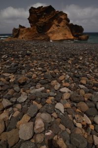 Charco de los Ciclos. El Golfo. Île de Lanzarote (Islas Canarias).