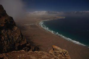 Mirador de Bosequecillo. Village d'Haria. Île de Lanzarote (Islas Canarias).