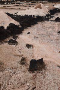 Salinas de los Agujeros.<br> Île de Lanzarote (Islas Canarias).