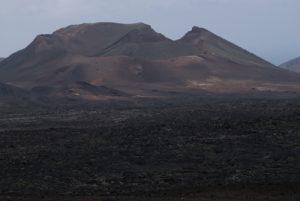 Monumento Natural de las Montanas del Fuego. Île de Lanzarote (Islas Canarias).