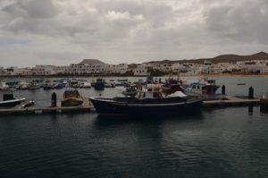 Port de Caleta del Sebo. Île de Graciosa. Île de Lanzarote (Islas Canarias).