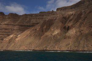 Falaises El Risco de Famara. Île de Lanzarote (Islas Canarias).
