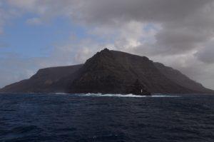 Punta Fariones, la pointe nord de Lanzarote. Île de Lanzarote (Islas Canarias).