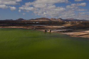 Salinas de Janubio<br> Île de Lanzarote (Islas Canarias).