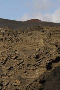 Charco de los Ciclos. Cratère El Golfo. Île de Lanzarote (Islas Canarias).