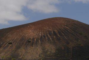 Montana Testeyna. Parque natural de los Volcanes. Île de Lanzarote (Islas Canarias).