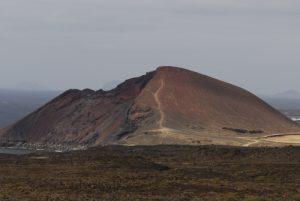 Montana Bermeja. Île de Lanzarote (Islas Canarias).