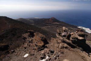 Paysage depuis le Volcan San-Antonio<br> Los Canarios / Fuencaliente<br> Île de La Palma (Canarias)