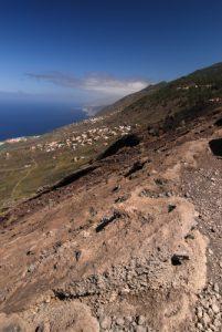 Village Las Indias depuis le Volcan San-Antonio<br> Los Canarios / Fuencaliente<br> Île de La Palma (Canarias)