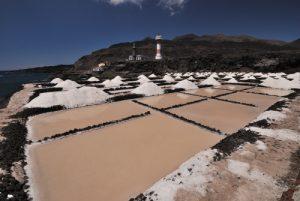 Les Salines du Faro<br> Los Canarios / Fuencaliente<br> Île de La Palma (Canarias)