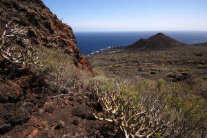 Paysages près des Salines du Faro<br> Los Canarios / Fuencaliente<br> Île de La Palma (Canarias)
