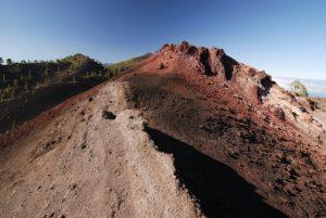 Volcan San Martin sur la route des volcans (Cumbre Vieja). Île de La Palma (Canarias)