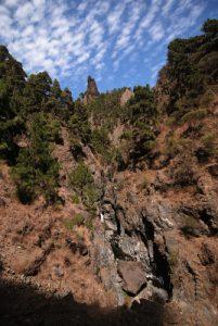 Paysages de la Caldera De Taburiente Île de La Palma (Canarias)
