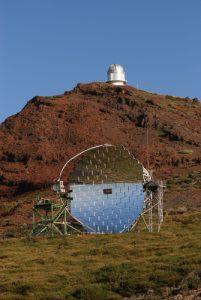 Télescope de Roque de los Muchachos Île de La Palma (Canarias)