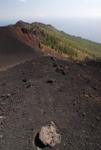 Volcan Montana Negra sur la route des volcans (Cumbre Vieja). Île de La Palma (Canarias)