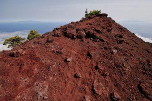 Du Volcan Cabrito au Volcan San Martin sur la route des volcans (Cumbre vieja) Île de La Palma (Canarias)