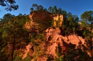 Le Sentier des Ocres<br> Parc Naturel Régional du Lubéron