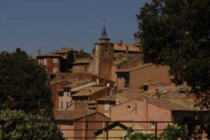 Le village de Roussillon<br> Parc Naturel Régional du Lubéron