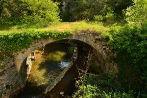 Pont sur l'Aiguebrun<br> Parc Naturel Régional du Lubéron