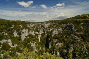 Les Gorges d'Oppedette<br> Parc Naturel Régional du Lubéron