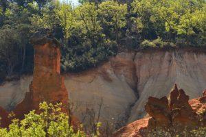 Ocres de Gignac<br> Parc Naturel Régional du Luberon