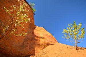 Le Colorado provençal de Rustrel<br> Parc Naturel Régional du Lubéron