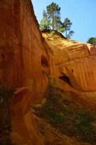les Ocres de Bruyères<br>Parc Naturel Régional du Lubéron