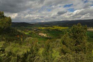 Point de vue de la chapelle ND des Anges<br> Le sentier des maîtres des forges<br> Le Colorado provençal de Rustrel<br> Parc Naturel Régional du Lubéron