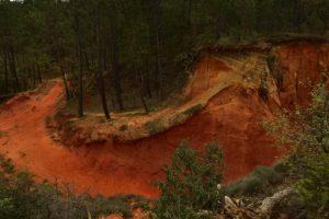 Le sentier des maîtres des forges<br> Le Colorado provençal de Rustrel<br> Parc Naturel Régional du Lubéron