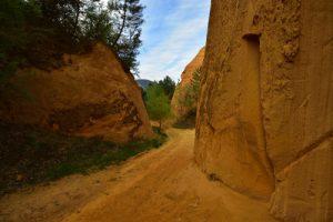 Les mines d'ocre de Bruyère<br> Parc Naturel Régional du Lubéron