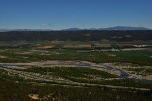 Point de vue de l'Abbaye Notre-Dame de Ganagobie<br> Parc Naturel Régional du Lubéron
