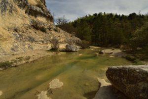 Le Saut du Moine du Calavon<br> Parc Naturel Régional du Lubéron