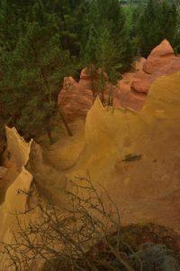 Les Ocres de Bruyères<br> Parc Naturel Régional du Luberon