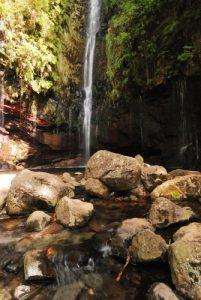 Cascades de la Levada das 25 fontes<br> Île de Madère