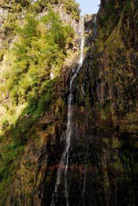 Cascades de la Levada do Risco<br> Île de Madère