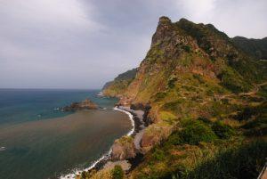 Paysages de la côte nord de l'Île de Madère