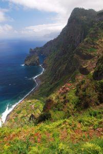 Point de vue de Santana Île de Madère
