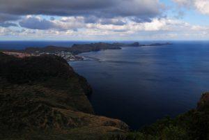 Presqu'île de Sao Lourenço Point de vue Pico do Facho Île de Madère
