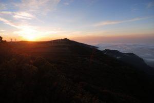 Point de vue de Bica di Cana (Paul da Serra) sur la chaîne Arieiro-Ruivo Île de Madère