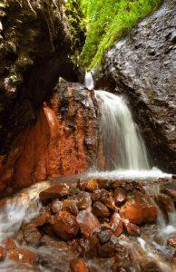 Cascade des sources chaudes de la Montagne Pelée Île de la Martinique