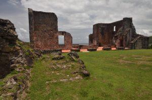 Château Dubuc<br> Prequ'île de la Caravelle<br> Île de la Martinique