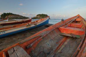 Bateaux de pêcheurs Petite-Anse à Sainte-Marie Île de la Martinique