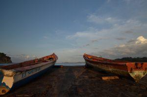Bateaux de pêcheurs<br> Petite-Anse à Sainte-Marie<br> Île de la Martinique